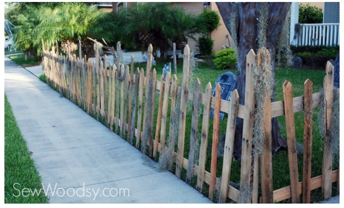 creepy fence