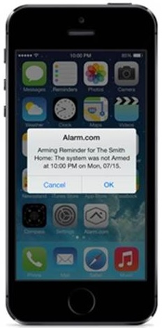 Smart Phone Home Security