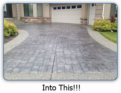 Prevent repair damage to your concrete renovationfind for Best way to clean cement driveway