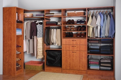 Stay organized with an Edmonton Custom Closet.
