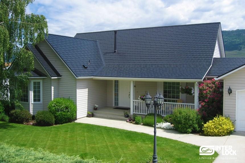 metal roofing Edmonton - slate