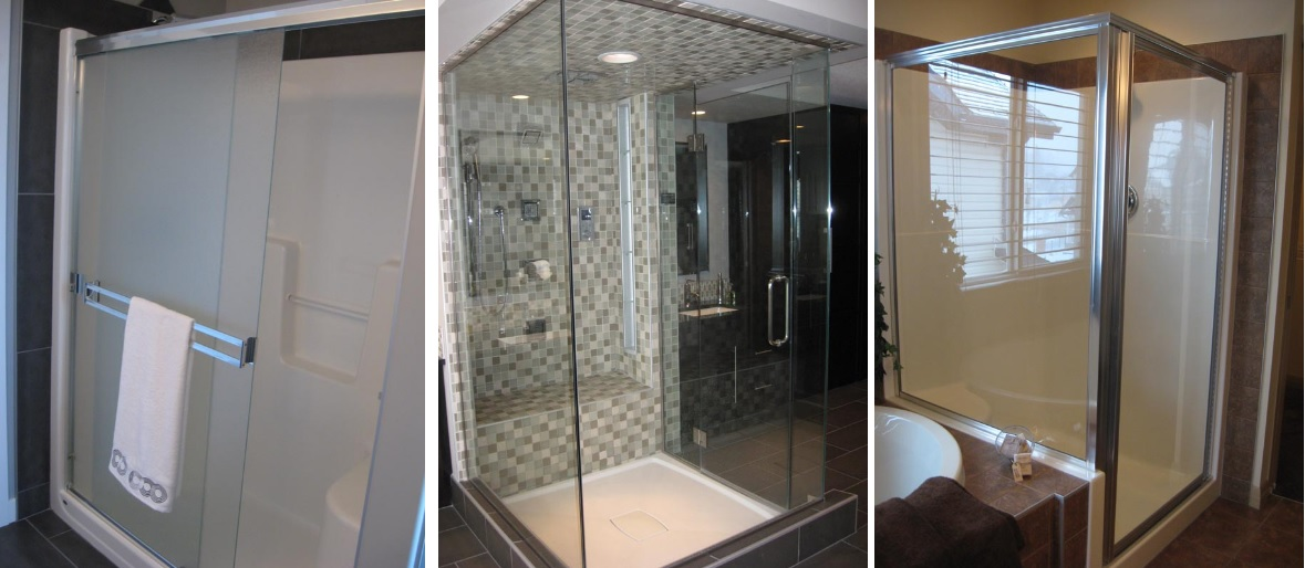 Shower doors and enclosures Edmonton