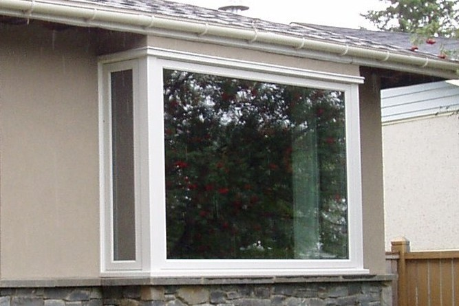 New bay window from QualiGlass Windows & Doors