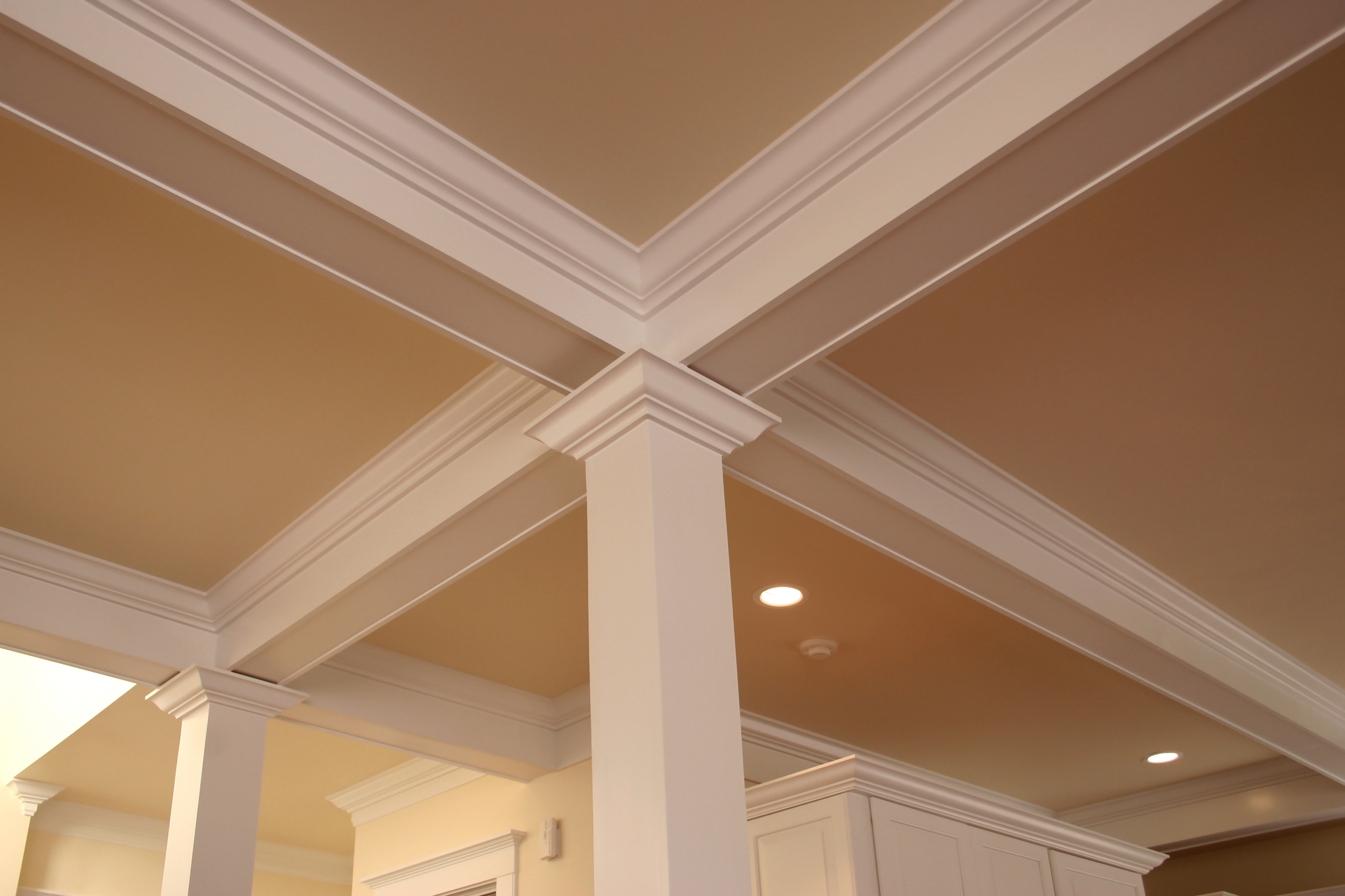 detailed crown molding