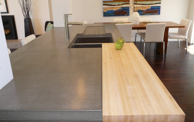 concrete countertops in Calgary