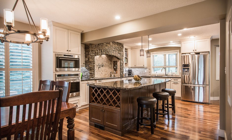 Kitchen Renovation by Four Elements Construction
