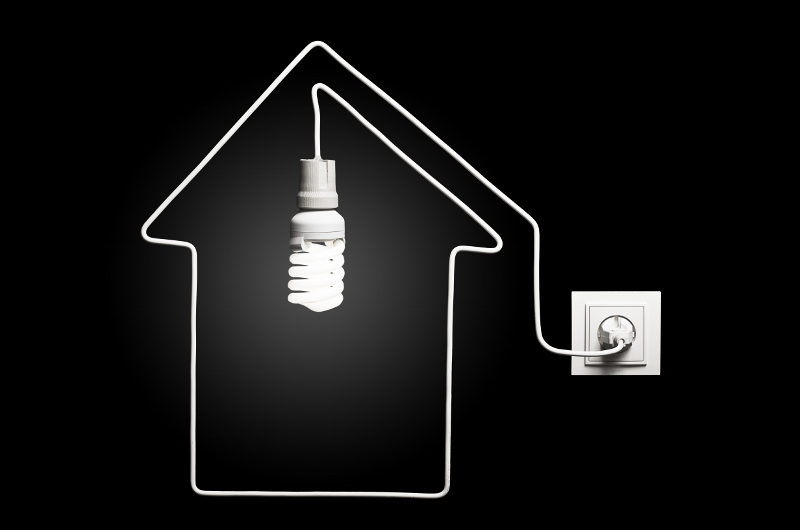 Light in the house
