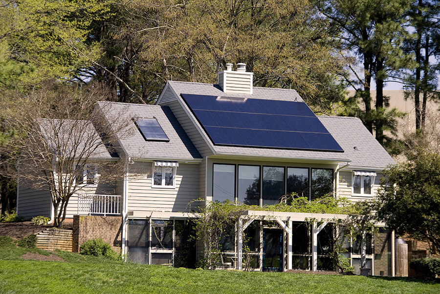 home-with-solar-thermal-system