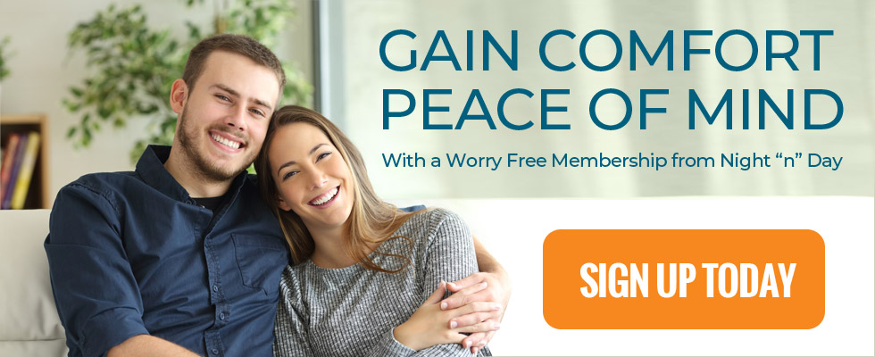 Sign Up for Worry-Free Home Comfort