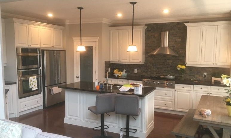Give Your Cabinets A Good Coat Of Paint, Painting Kitchen Cabinets Calgary