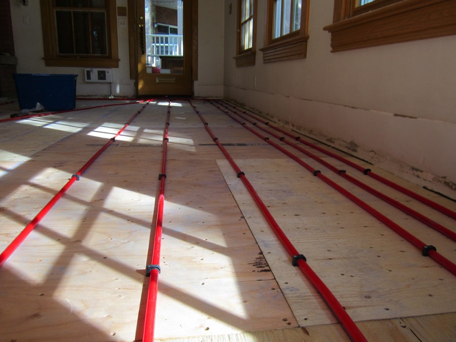 Dual savings: hydronic heating with eco-friendly plumbing