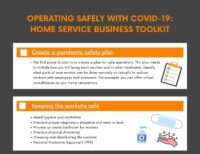 Operating Safely with COVID-19: Home Service Business Toolkit