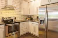 Hire an electrician to handle kitchen appliance circuits