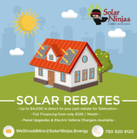 Rebates and financing make going solar easy in Edmonton